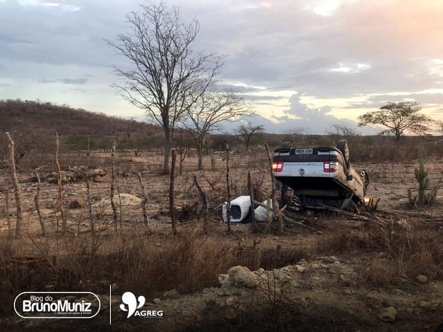 Acidente deixa um morto e um ferido, em Santa Cruz do Capibaribe