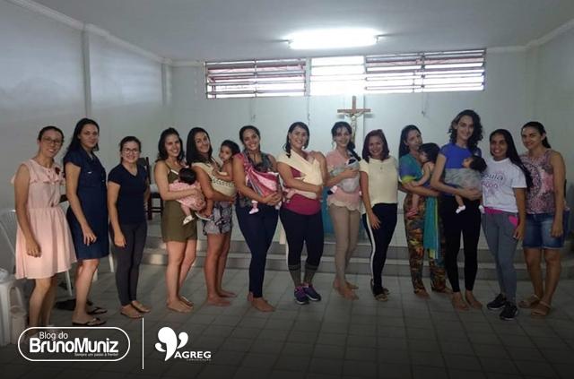 Em Santa Cruz do Capibaribe projeto envolve oficina de sling, doulas e dança para mães