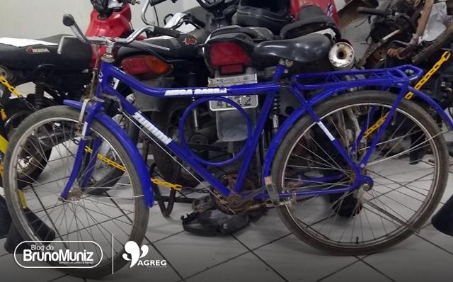 Homem é detido com bicicleta roubada em Santa Cruz do Capibaribe