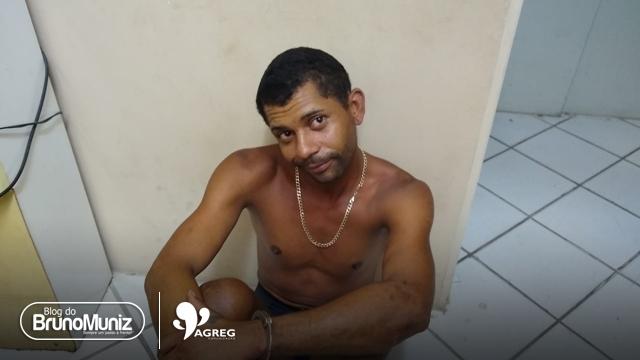 Indivíduo é detido após roubar aparelhos eletrônicos e atear fogo em residência em São Domingos