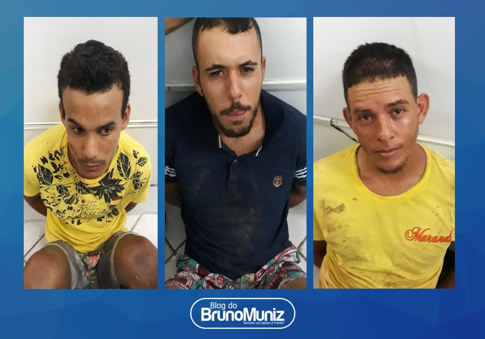 Três pessoas são detidas após invadir residência em Santa Cruz do Capibaribe