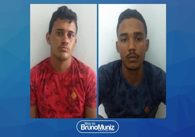 Dois indivíduos são detidos com entorpecentes e arma de fogo em Santa Cruz do Capibaribe