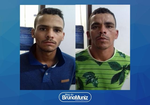 Dois indivíduos são detidos suspeitos por tráfico de drogas em Santa Cruz do Capibaribe