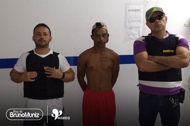 Mandado de prisão é cumprido em São Domingos, distrito de Brejo da Madre de Deus