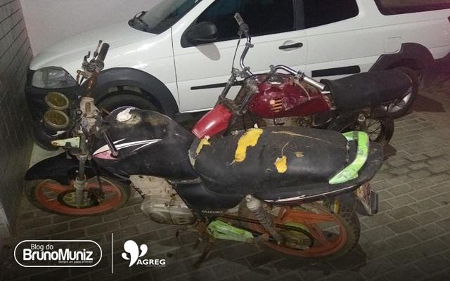 Adolescentes são detidos após furtarem duas motocicletas do depósito da Polícia Civil em Santa Cruz do Capibaribe