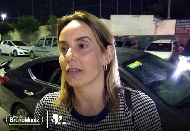 Alessandra Vieira presta queixa contra Clodoaldo Barros e Mauro Santanna por publicações em rede social