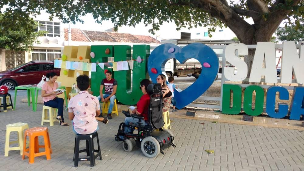 UESCC leva Encontro Literário para as ruas de Santa Cruz do Capibaribe