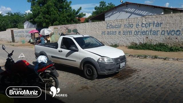 Colisão entre veículos é registrada em Santa Cruz do Capibaribe