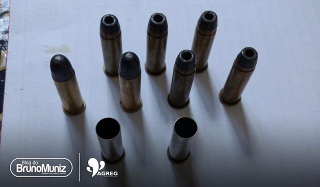 Indivíduo é detido com várias munições no município de Brejo da Madre de Deus