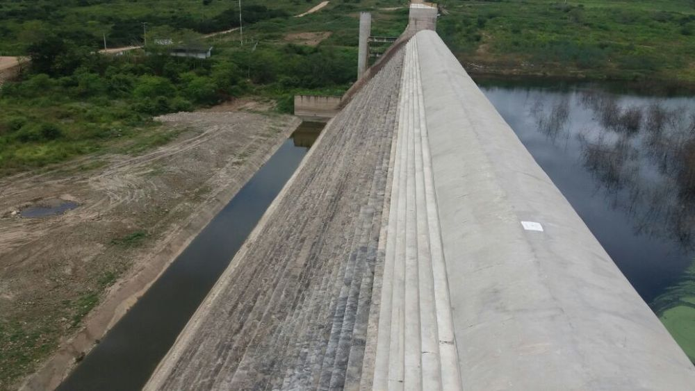 Barragem de Belo Jardim volta a acumular água depois de três anos em colapso