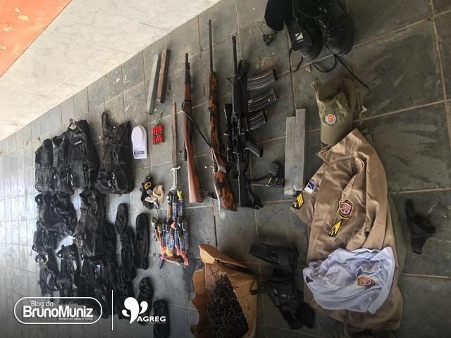 Polícias Militar e Federal prendem suspeitos envolvidos em assalto a banco em Bezerros