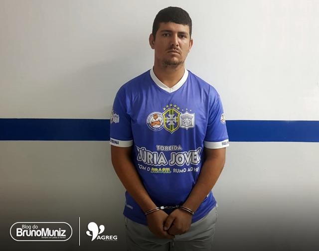 Homem acusado de homicídio é preso em Santa Cruz do Capibaribe