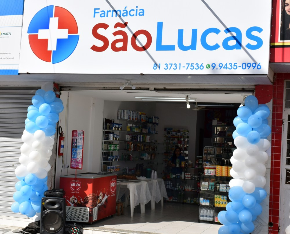 Blog Comércio – Farmácia São Lucas inaugura em São Domingos