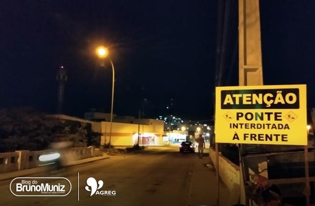 Ponte em Santa Cruz do Capibaribe será interditada