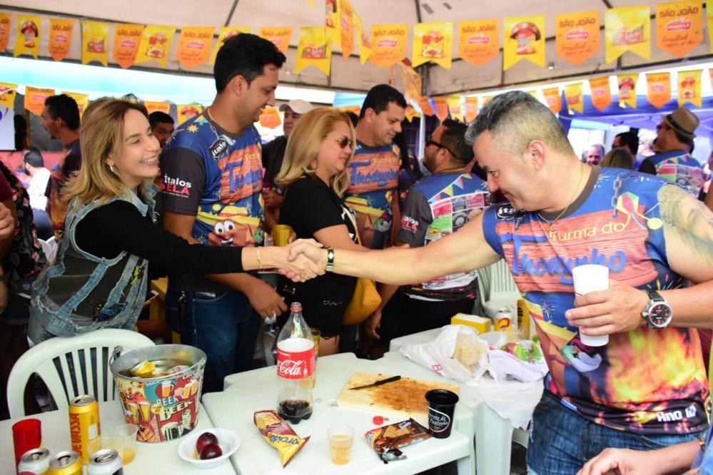 Alessandra Vieira participa de festejos juninos no Agreste pernambucano