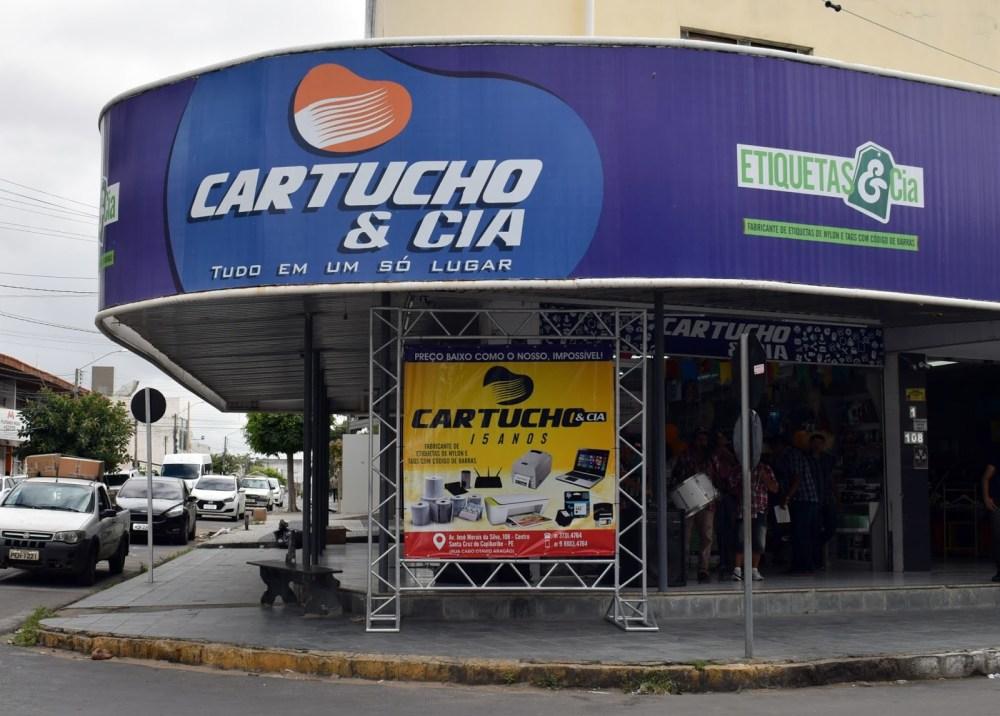 Blog Comércio – Promoção Estoura Balão faz sucesso na Cartucho & Cia