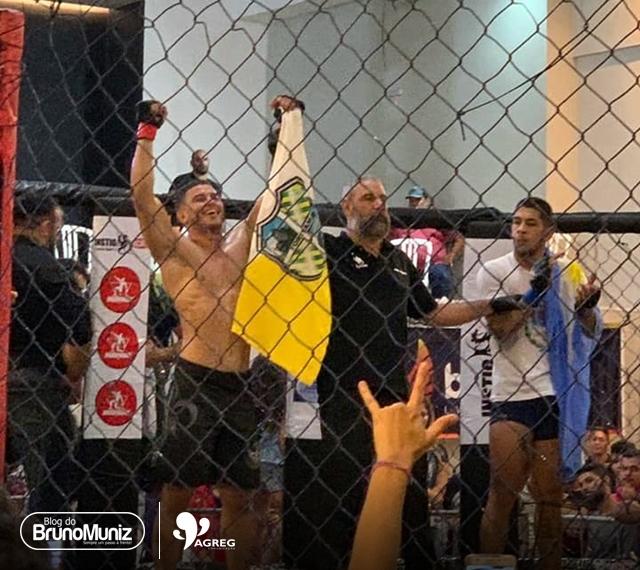 Combate de MMA – Lutador de Toritama vence argentino por finalização