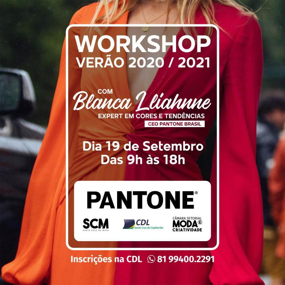 Pantone realizará workshop na CDL de Santa Cruz do Capibaribe
