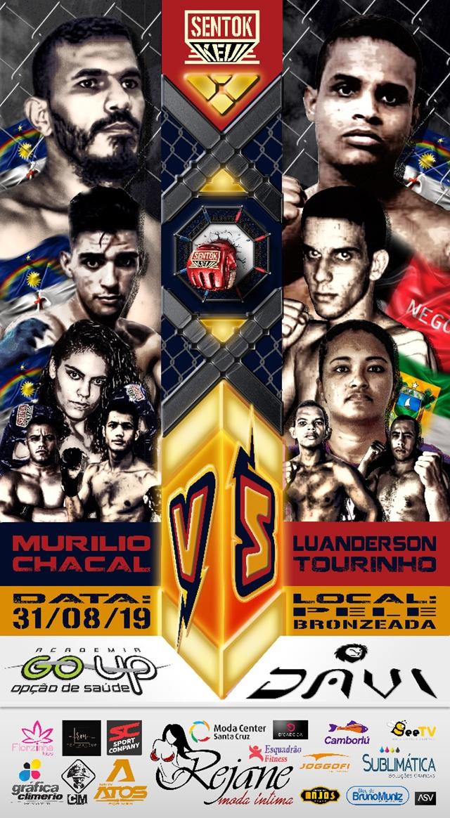 MMA – Sentok Keiji acontece em agosto em Santa Cruz do Capibaribe