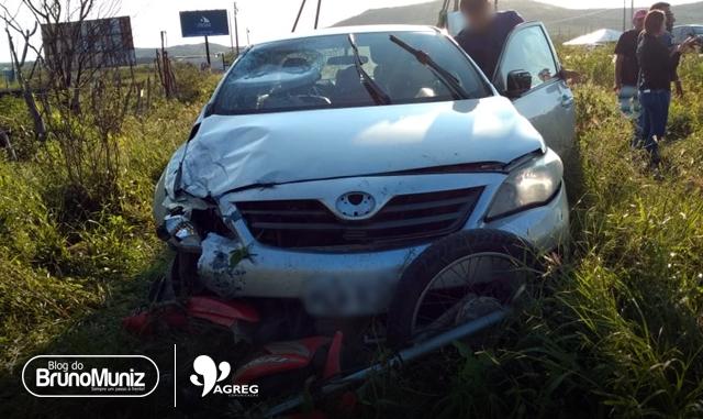 Acidente deixa vítima fatal na PE-160