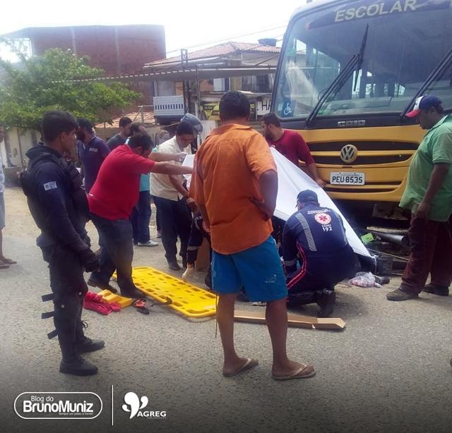 Grave acidente é registrado em Taquaritinga do Norte