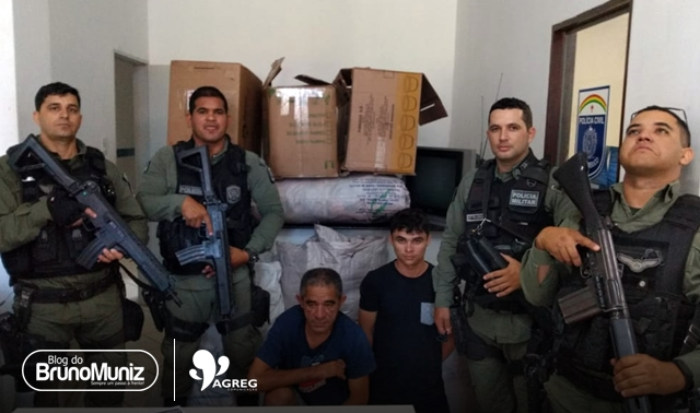 Dupla é detida com mercadorias roubadas em centro de compras de Santa Cruz do Capibaribe
