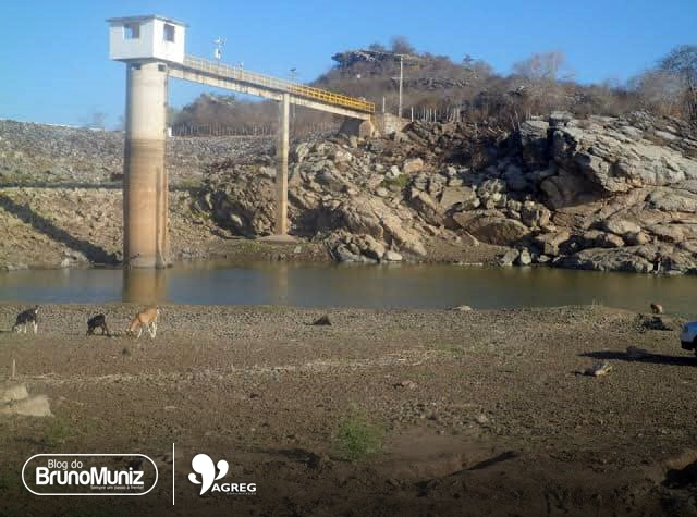 Sem intervenção do poder público, barragem de Poço Fundo já perdeu praticamente toda água captada nas chuvas
