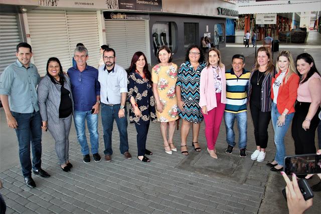 Comissão de Defesa dos Direitos da Mulher realiza visita ao Moda Center
