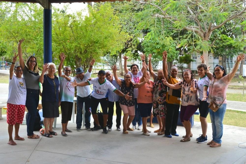 Centro de Convivência dos Idosos promove dia de descontração no Parque Florestal