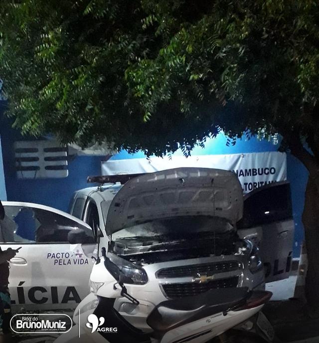 Viatura sofre princípio de incêndio no município de Toritama
