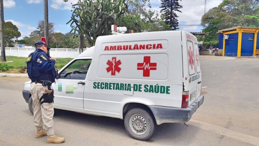 Em Pernambuco, PRF deflagra operação de fiscalização em ambulâncias