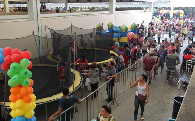 'Dia das Crianças no Moda' proporciona muita animação e alegria a visitantes do Moda Center