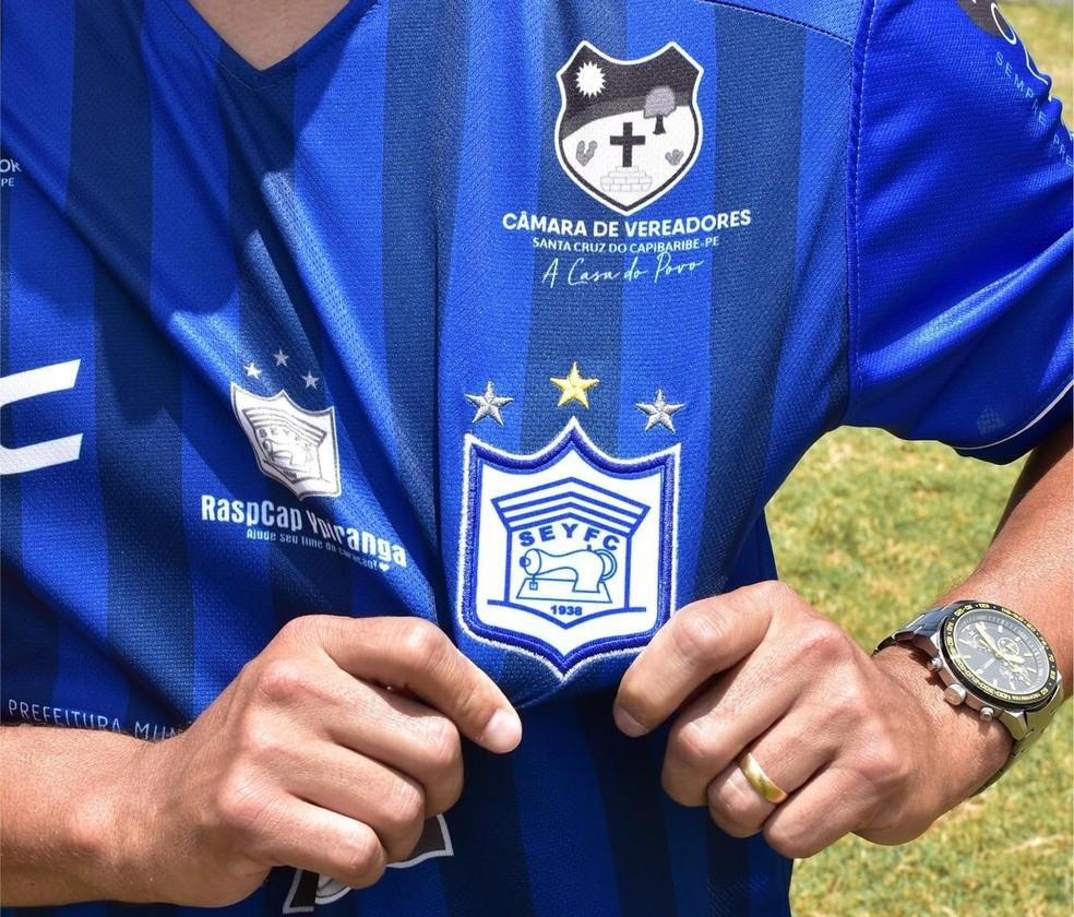 Ypiranga lança camisa para disputa da Copa Pernambuco