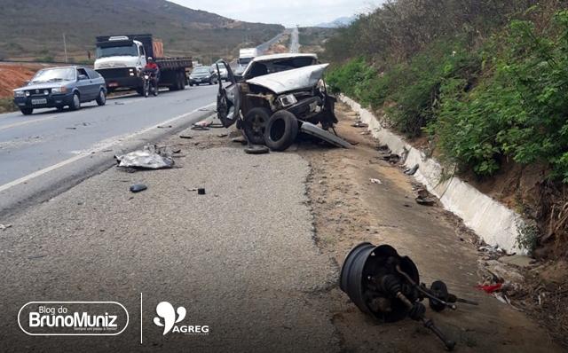 Homem morre em acidente na BR-104, no Agreste