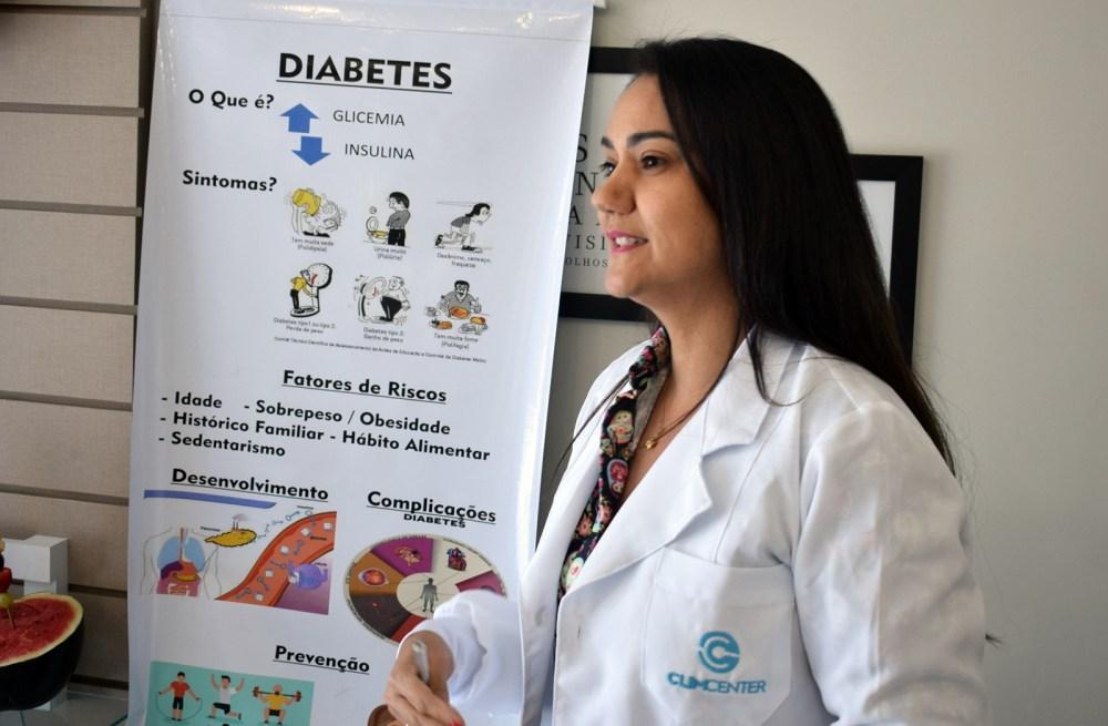 Saúde – Clim Center realiza dia de palestras e outras atividades de combate ao diabetes