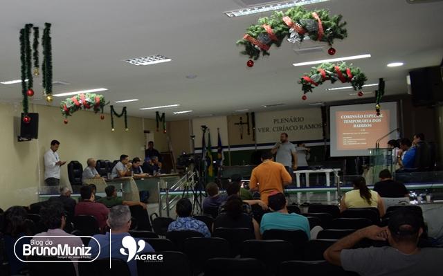 Audiência pública expõe projeto de regularização e criação dos bairros de Santa Cruz do Capibaribe