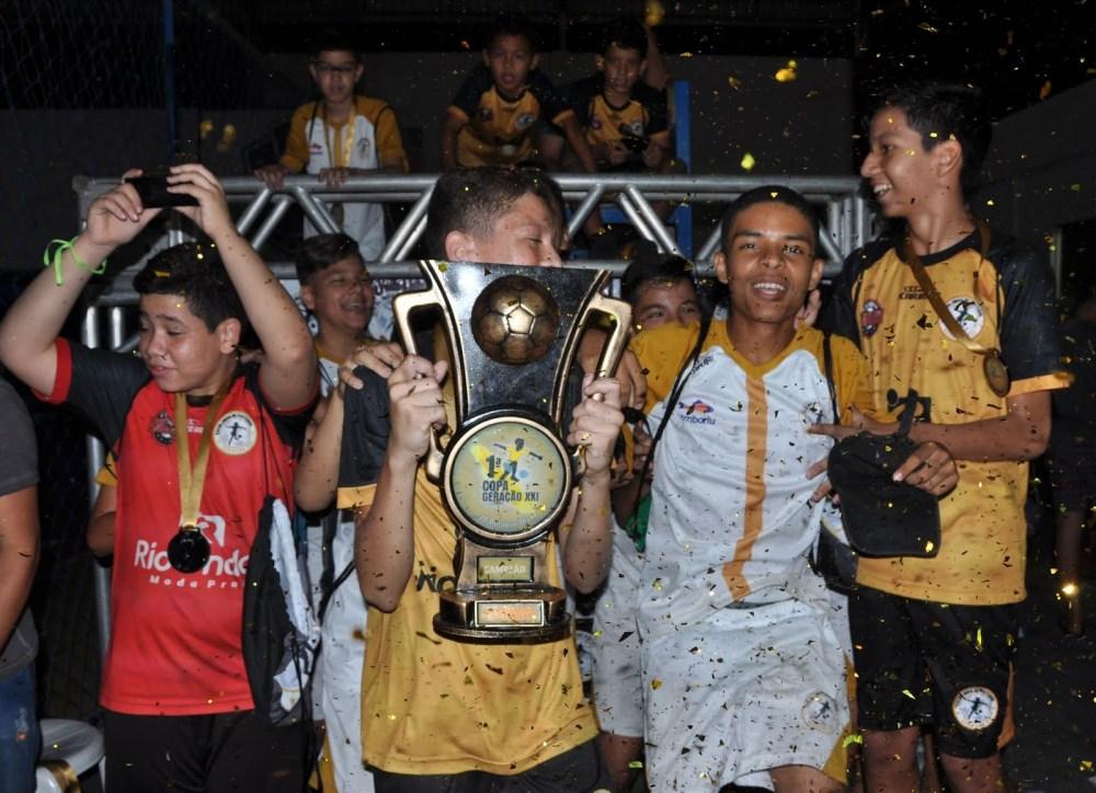 1º Copa Geração XXI reúne jovens talentos em Santa Cruz do Capibaribe