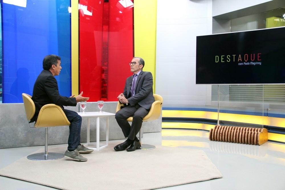 Feiras da alta temporada de final de ano no Moda Center é tema de entrevista na TV Jornal