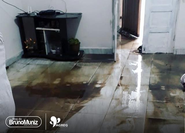 Chuva provoca estragos em bairros de Santa Cruz do Capibaribe