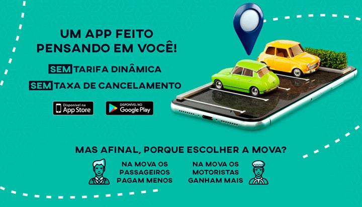 Mova – Aplicativo semelhante ao Uber chega a Santa Cruz do Capibaribe