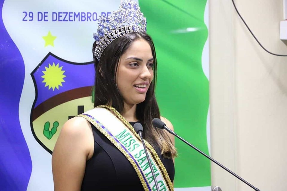 Miss Santa Cruz do Capibaribe 2020 é apresentada na Câmara Municipal
