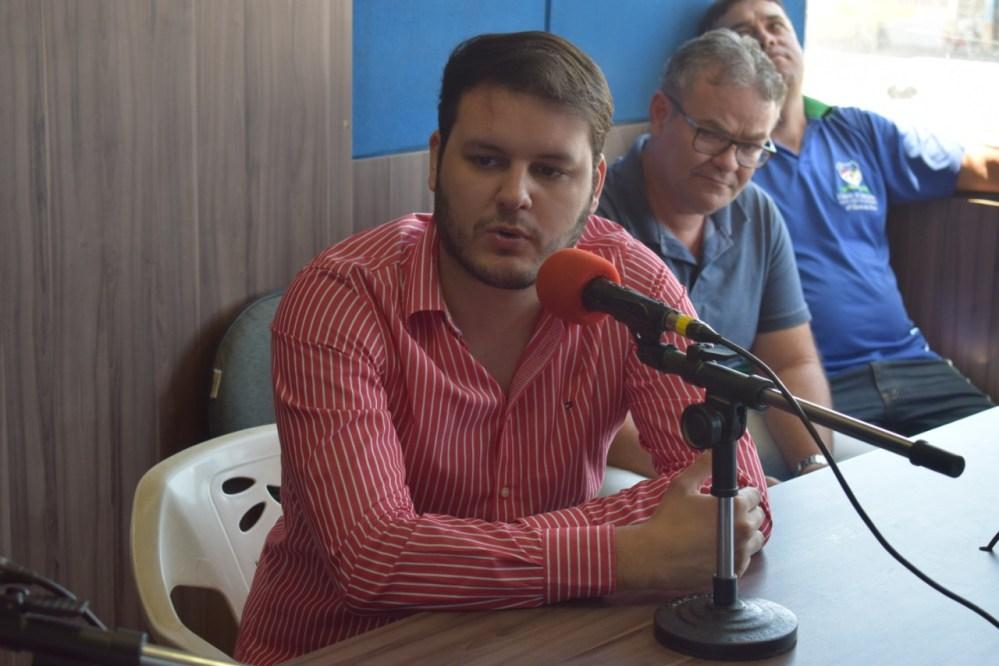 Augusto Maia diz que Helinho atende ao perfil almejado pelo eleitorado este ano