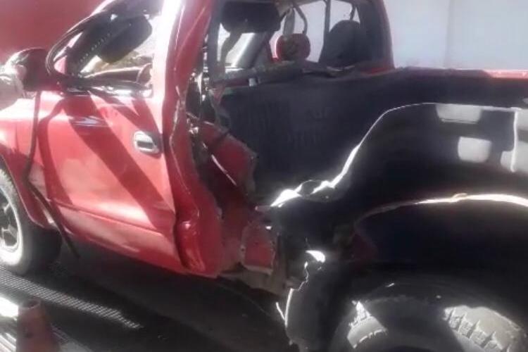 Veículo explode ao ser reabastecido em Taquaritinga do Norte