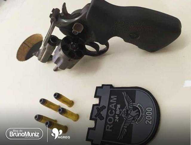 Polícia tira arma de fogo de circulação em Santa Cruz do Capibaribe