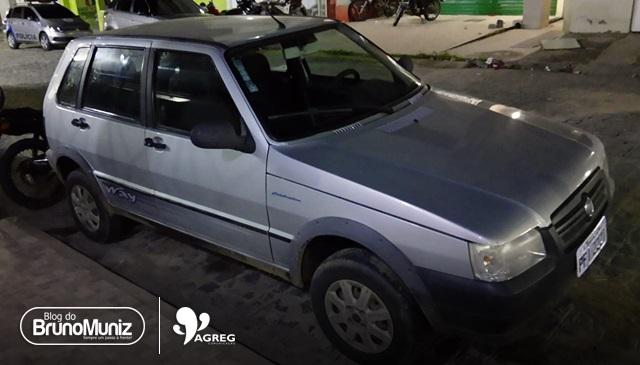 Homem é preso após ser flagrado com veículo roubado em Taquaritinga do Norte