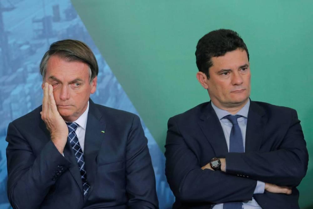 Sergio Moro, o juiz da Lava Jato, anuncia sua demissão do governo Bolsonaro