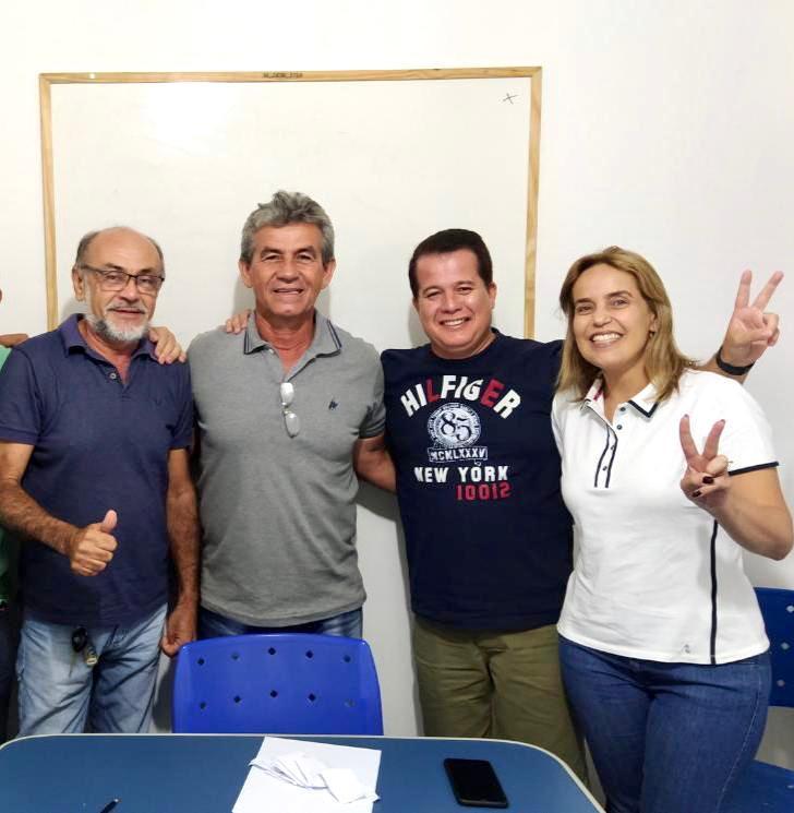 Ronaldo Pacas volta para o grupo situacionista e declara apoio à pré-candidatura de Dida de Nan