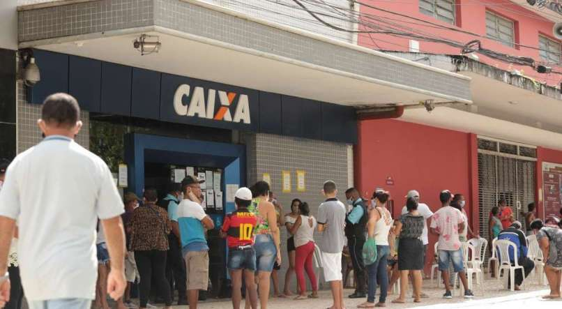 Caixa começa a pagar segunda parcela do auxílio emergencial a inscritos no CadÚnico que não recebem Bolsa Família nesta quarta