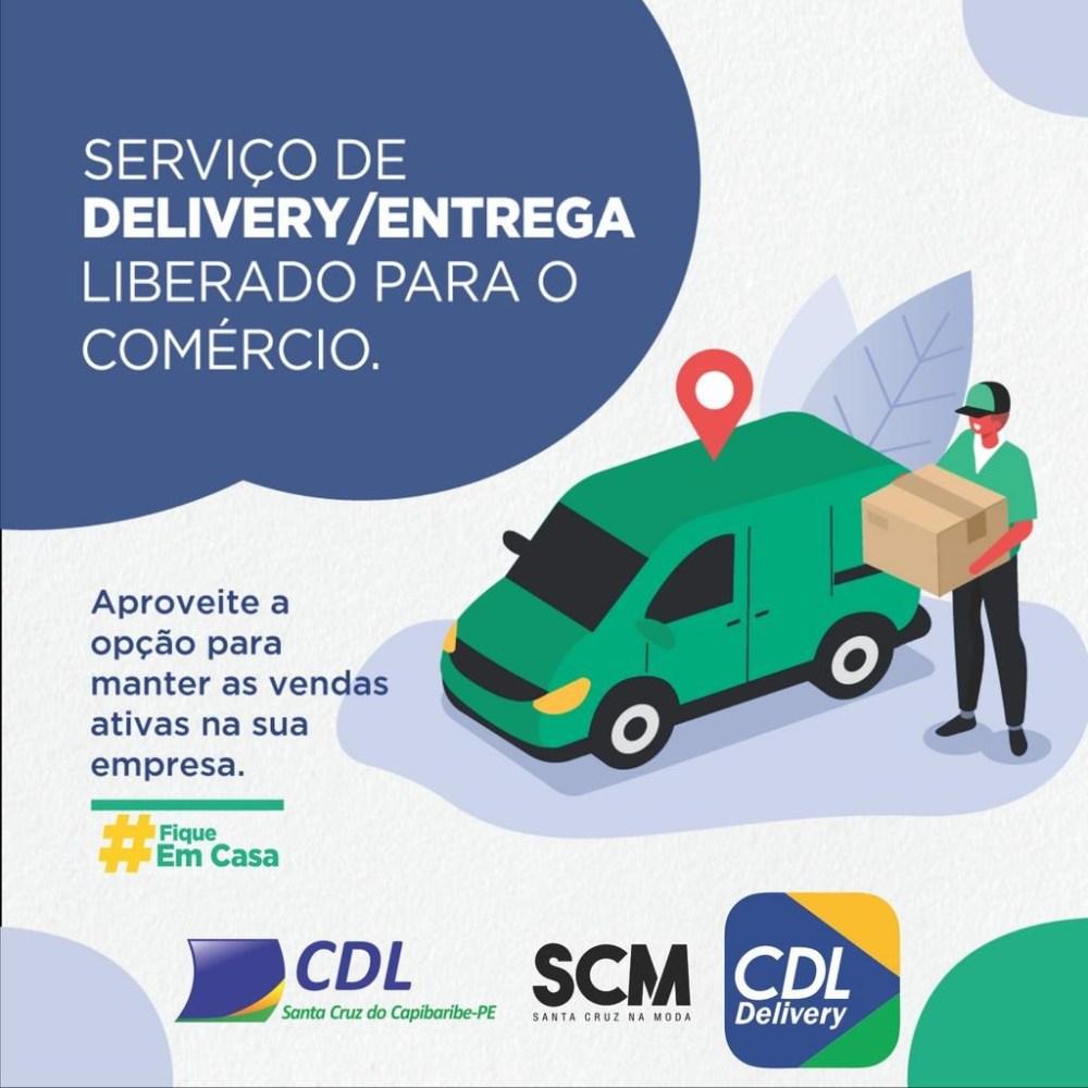 CDL de Santa Cruz do Capibaribe lança plataforma de delivery