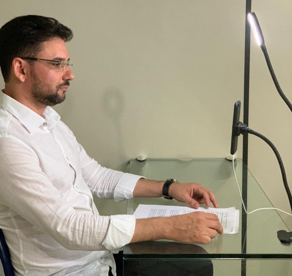 Secretário participa de videoconferência que debate a abertura do comércio de forma gradativa